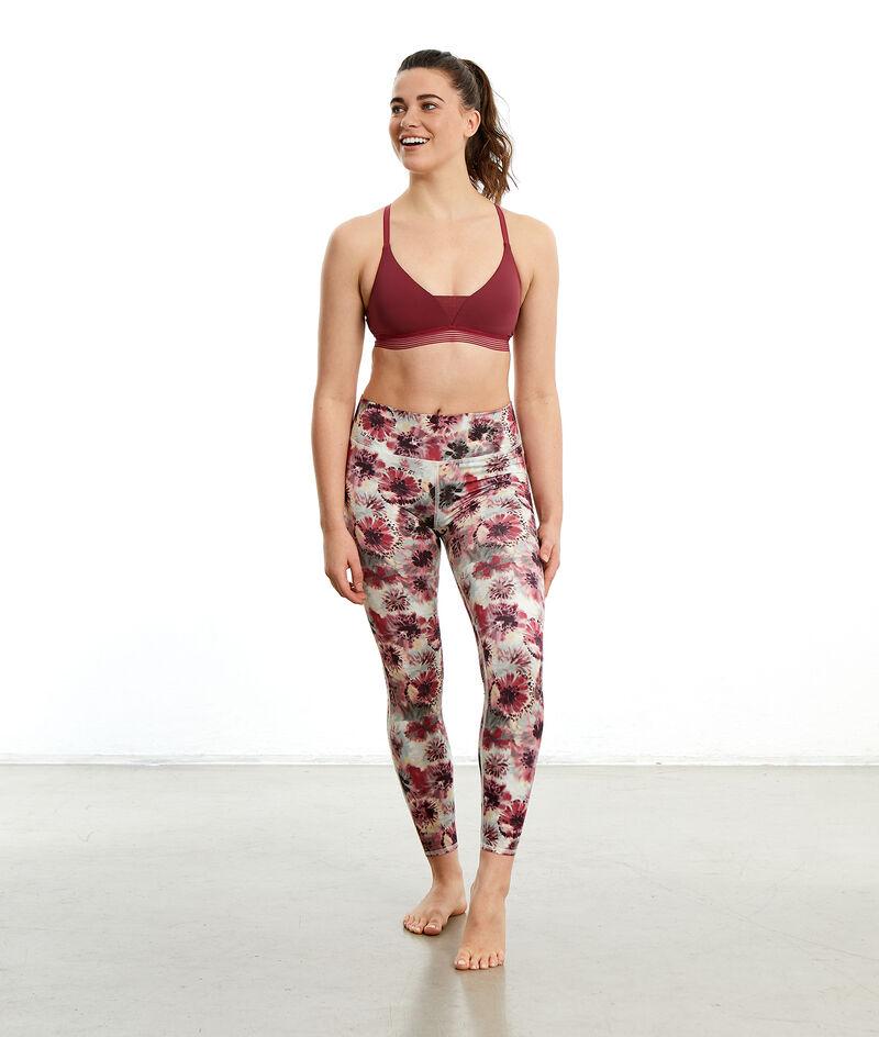 Leggings yoga estampado floral;${refinementColor}