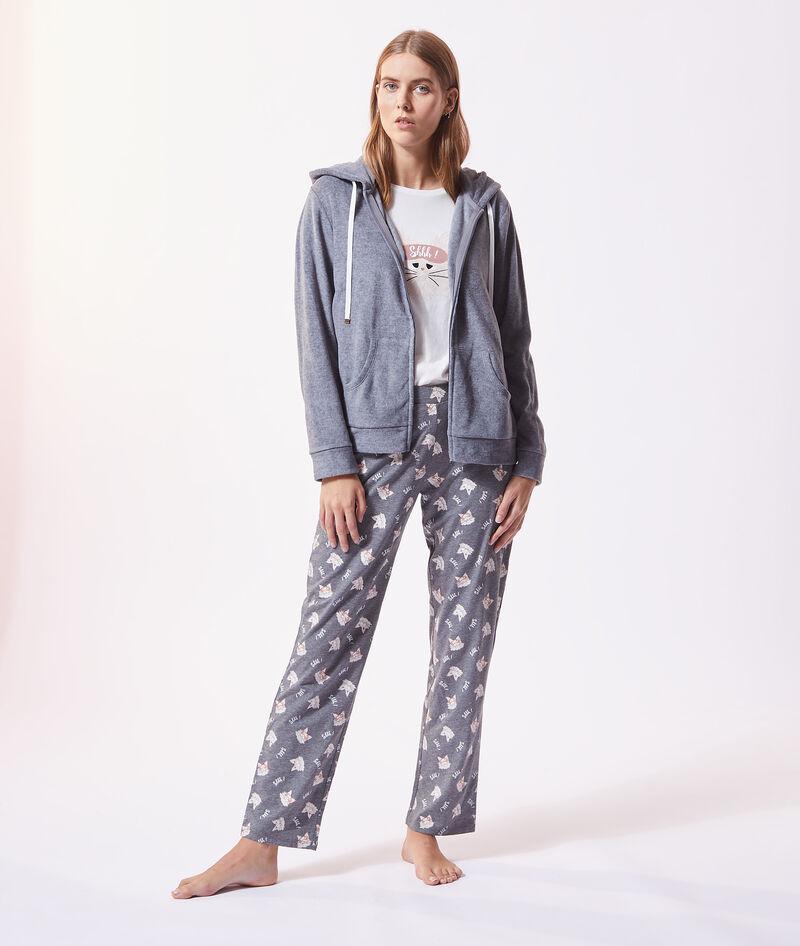 Pijama 3 piezas 'shhh'