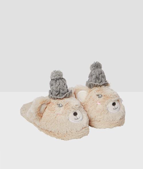 Zapatillas oso de fantasía
