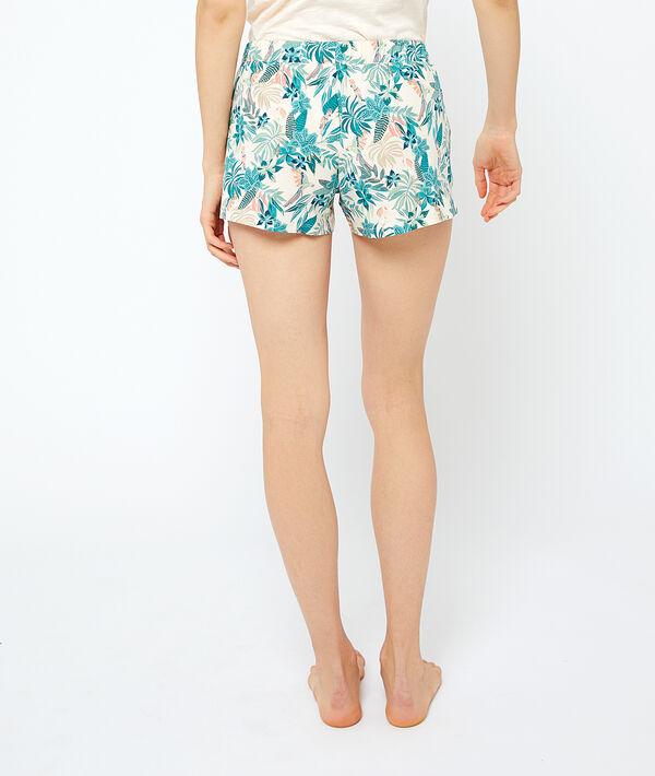 Pantalón corto estampado algodón orgánico ;${refinementColor}