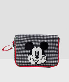 Neceser mickey mouse negro.