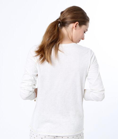 Camiseta manga larga mensaje
