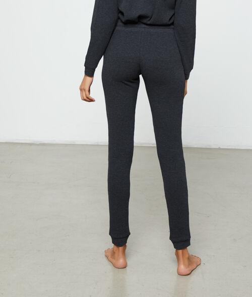 Pantalón homewear ajustado