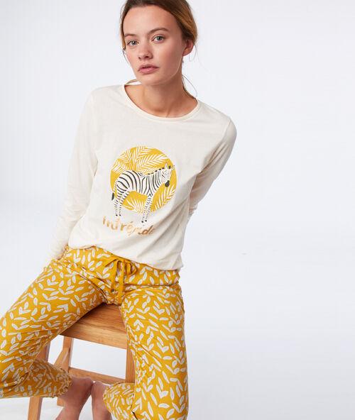 16344742b Camisetas manga larga de pijama - Pijamas de mujer - Etam