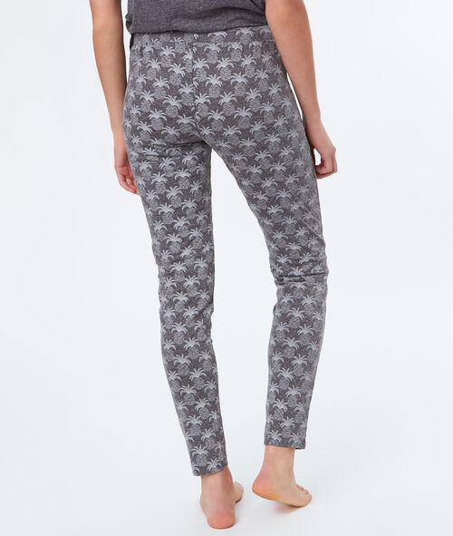 Pantalón tipo leggings estampado