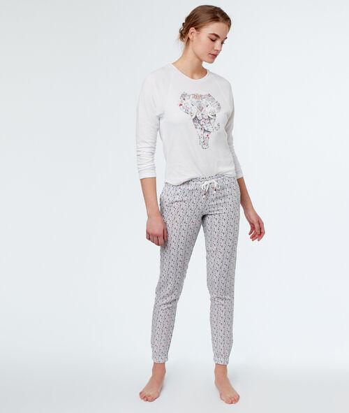 Camiseta estampado elefante