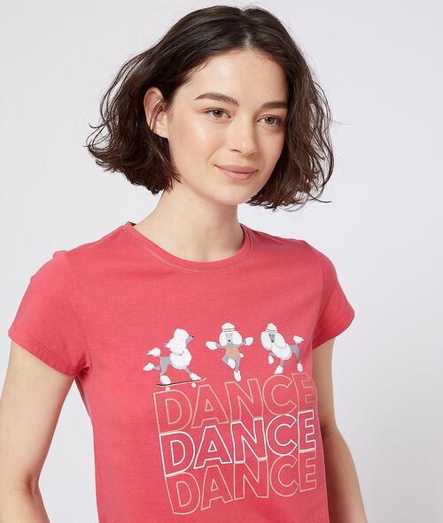 Camiseta estampado caniches
