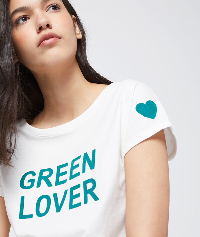 CAMISETA 'GREEN LOVER' ALGODÓN ORGÁNICO