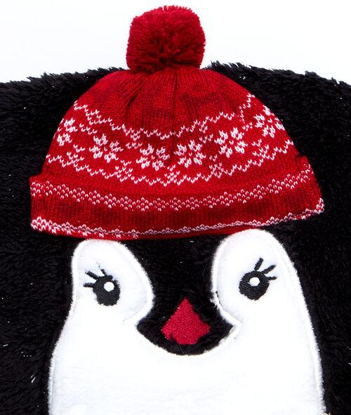 Manta suave pingüino