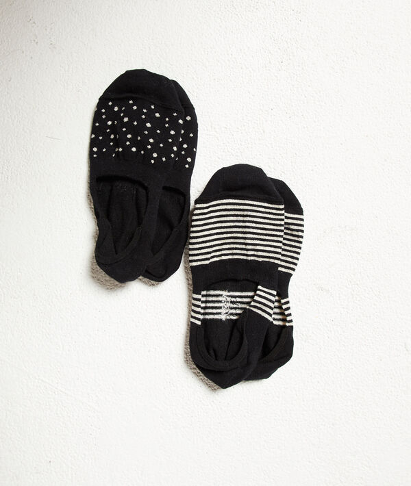 Lote de 2 pares de calcetines estampados;${refinementColor}