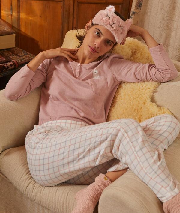 Conjunto pijama con antifaz