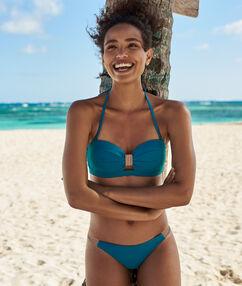 Braguita bikini brasileña turquesa.
