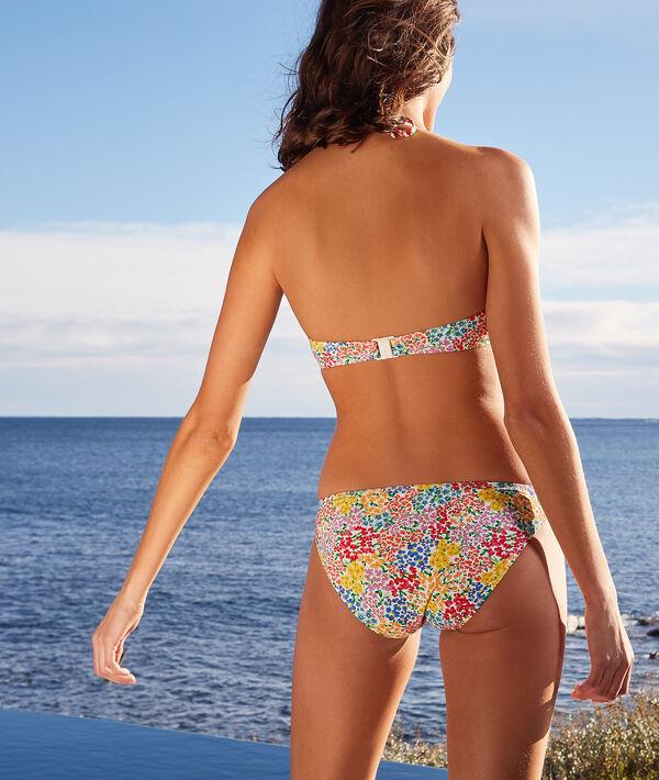 Sujetador bikini push up estampado floral. Copa B-C;${refinementColor}
