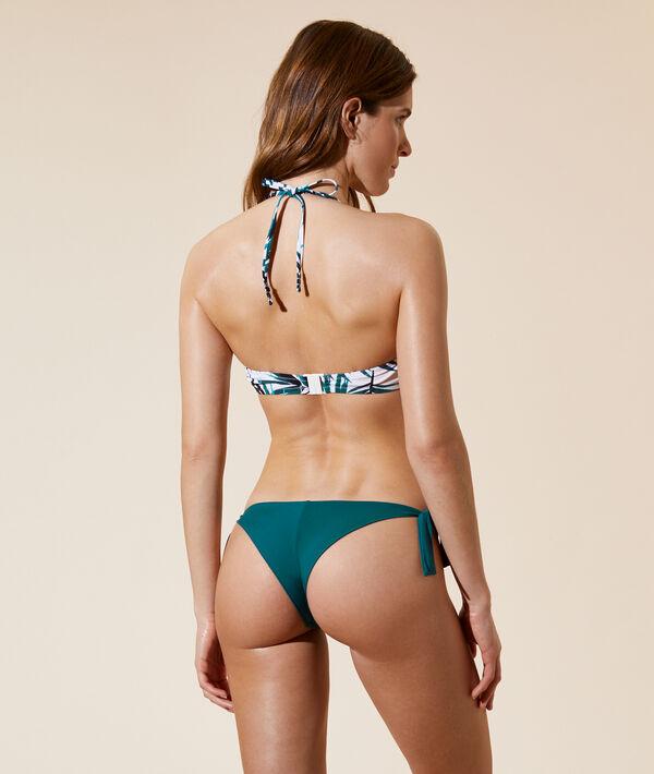 Sujetador bikini push up estampado palmeras. Copa B;${refinementColor}