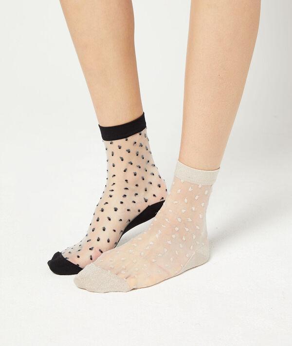 Lote de 2 pares de calcetines tul plumeti;${refinementColor}