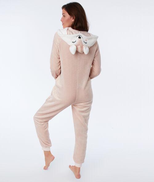 Mono largo tejido peluche ciervo
