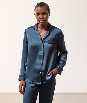 SPE RU - Chemise pyjama d'homme satinée;${refinementColor}