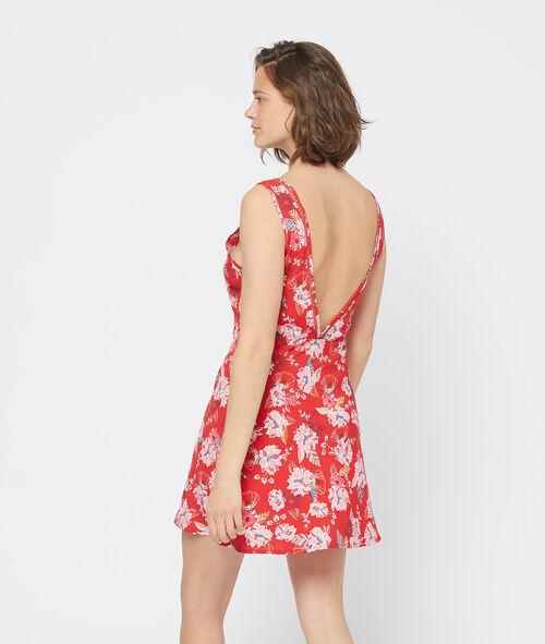 Camisón estampado floral