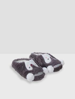 Zapatillas pingüinos c.gris.