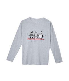 Camiseta con mensaje c.gris.