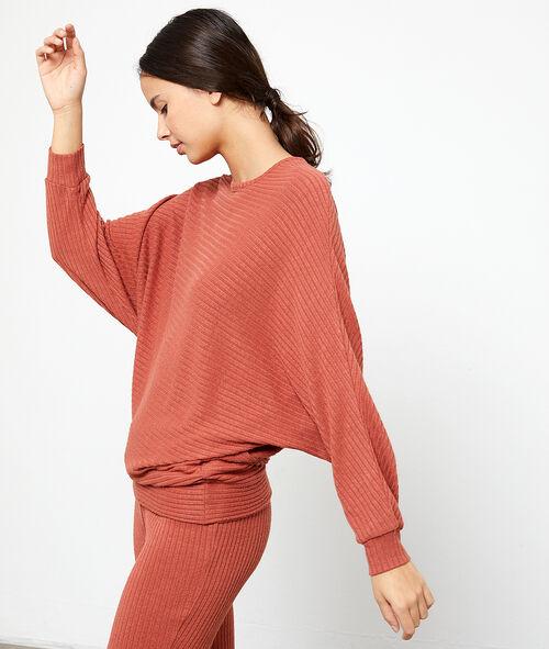 Jersey tejido canalé