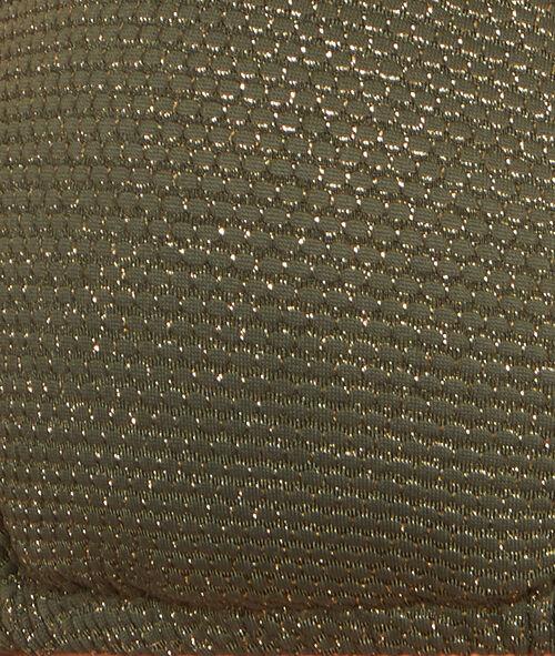 Sujetador bikini triangular tejido lúrex