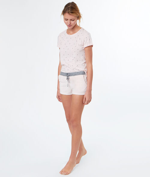 Camiseta corto bicolor