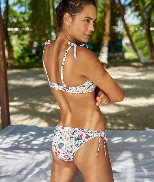 Braguita bikini estampado floral