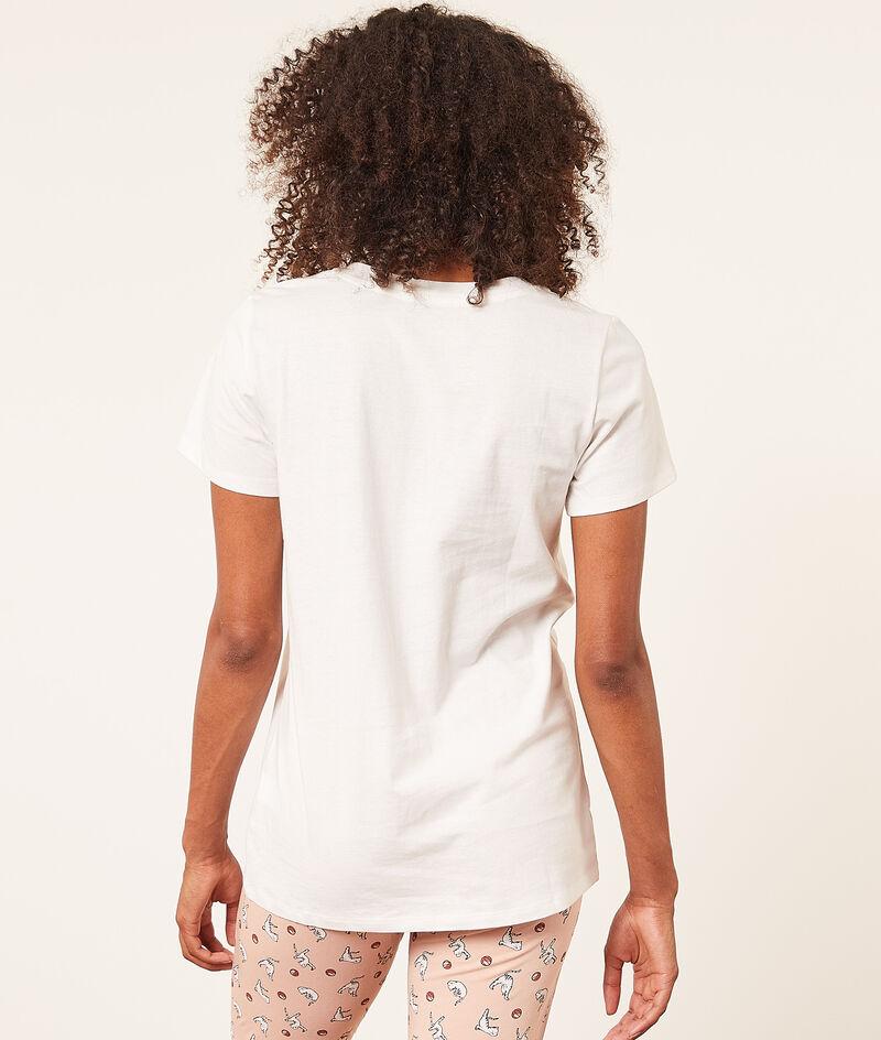 Camiseta manga corta estampada;${refinementColor}