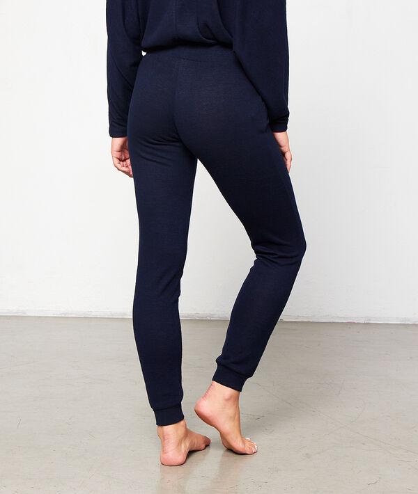 Pantalón liso anudado