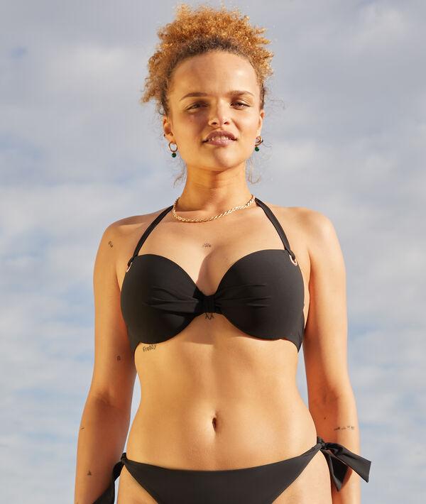 Sujetador bikini con foam lisa. Copa D-E;${refinementColor}
