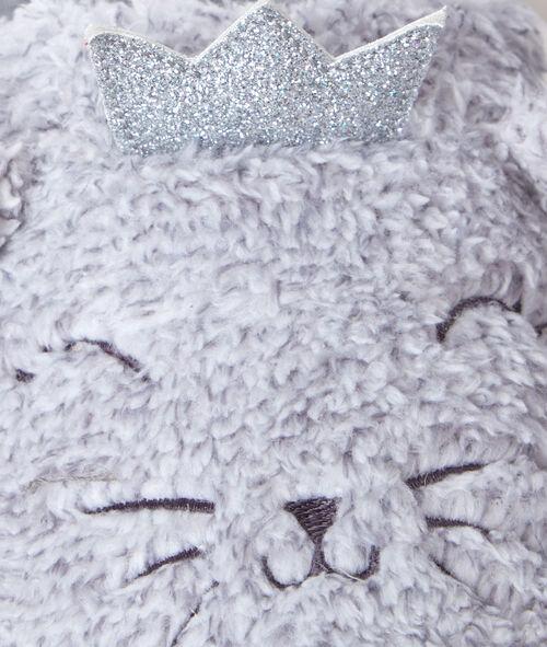 Zapatillas gatos peluche