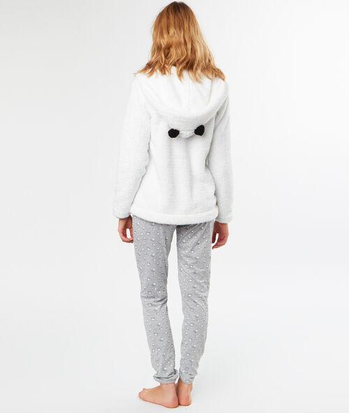 Pijama 3 piezas panda