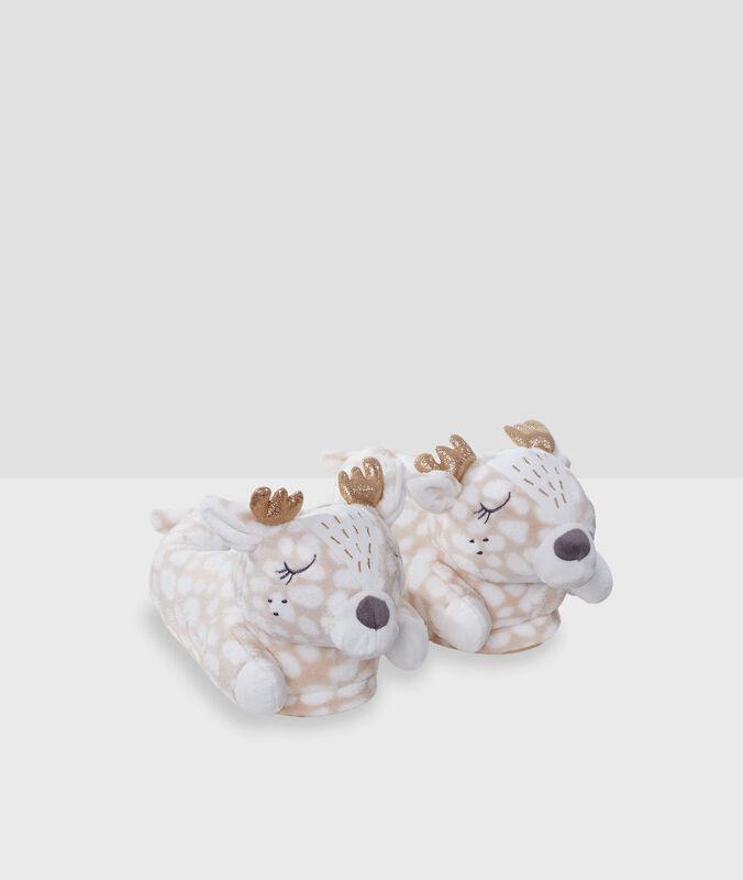 Zapatillas renos c.beige.