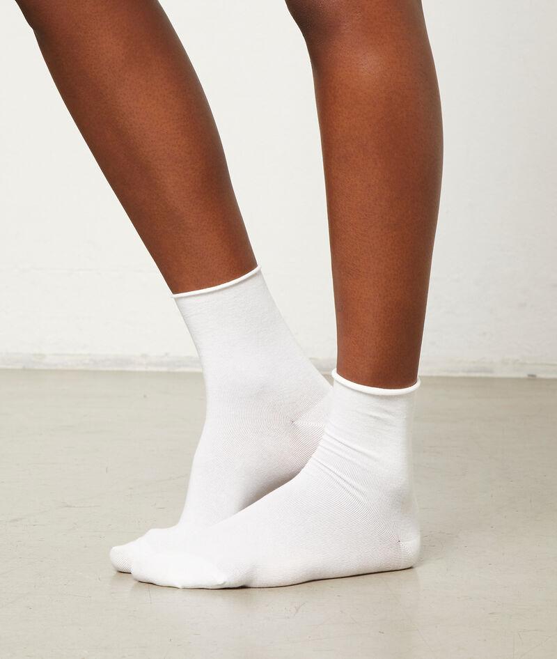2 pares de calcetines algodón orgánico