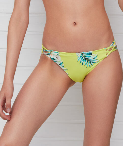 Brguita bikini estampado tropical