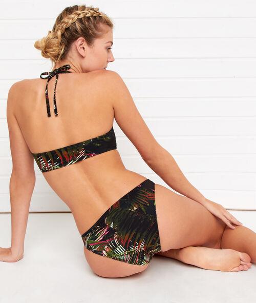 Braguita bikini estampado tropical