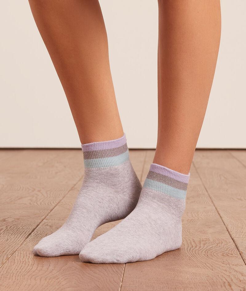 Calcetines franjas de color