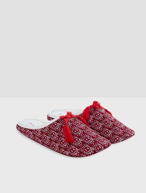 Zapatillas estampado trival crudo.