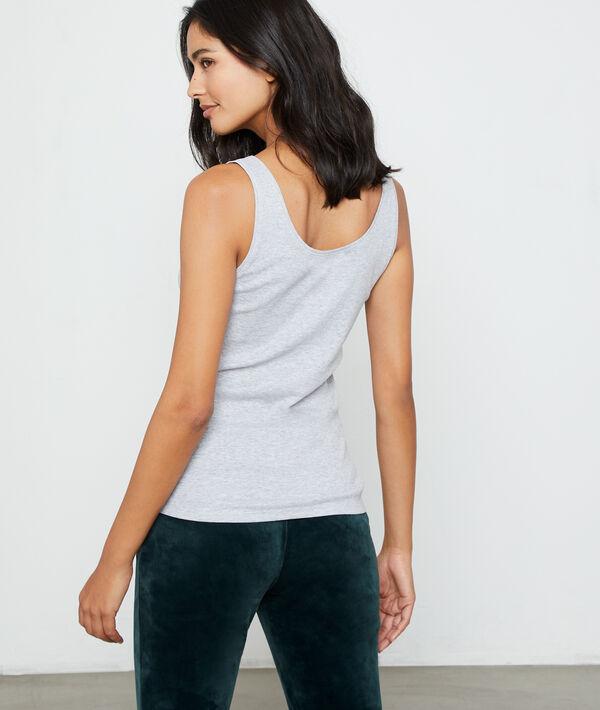 Top sin mangas de algodón 'Just love'