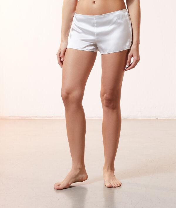 Pantalón corto de satén;${refinementColor}