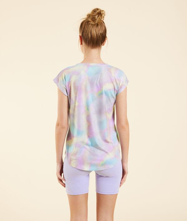 Camiseta estampado tie-dye;${refinementColor}