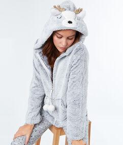 Chaqueta polar reno c.gris.