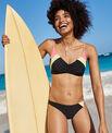 Top bikini colorblock