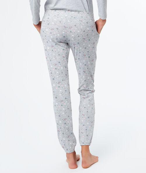 Pijama 3 piezas estampado