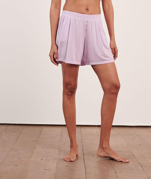 ES - Short de pyjama uni;${refinementColor}