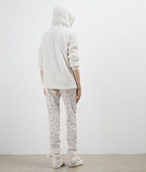 Pijama 3 piezas muñeco de nieve