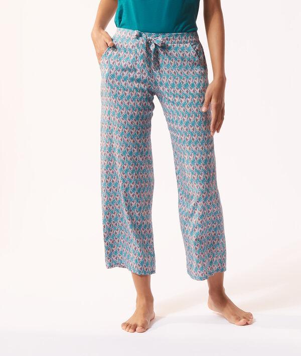 Pantalón 7/8 ancho;${refinementColor}