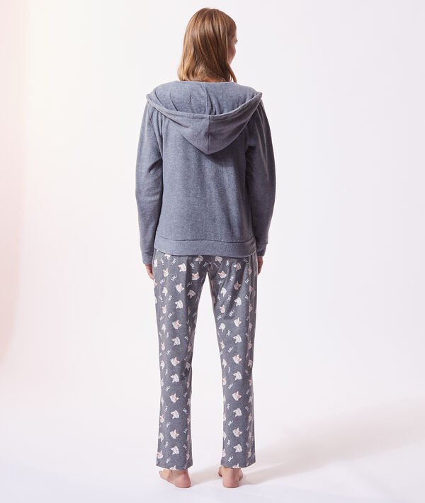 Pijama 3 piezas 'shhh';${refinementColor}