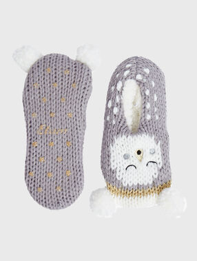 Calcetines ratón c. gris.
